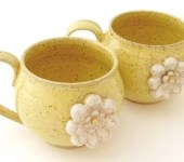 Stoneware Little Flower Mug