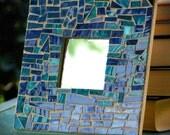 Ocean mirror mosaic