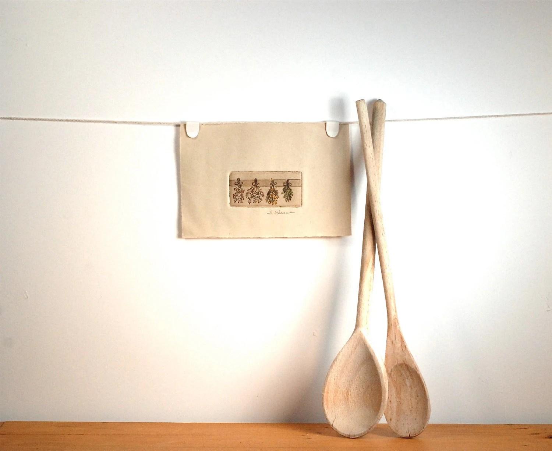 Tuscan Bouquet Kitchen Print - ThePolkadotMagpie