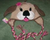 Little Princess Puppy Hat SOO CUTE- Customized Boy or Girl -Preemie-4T