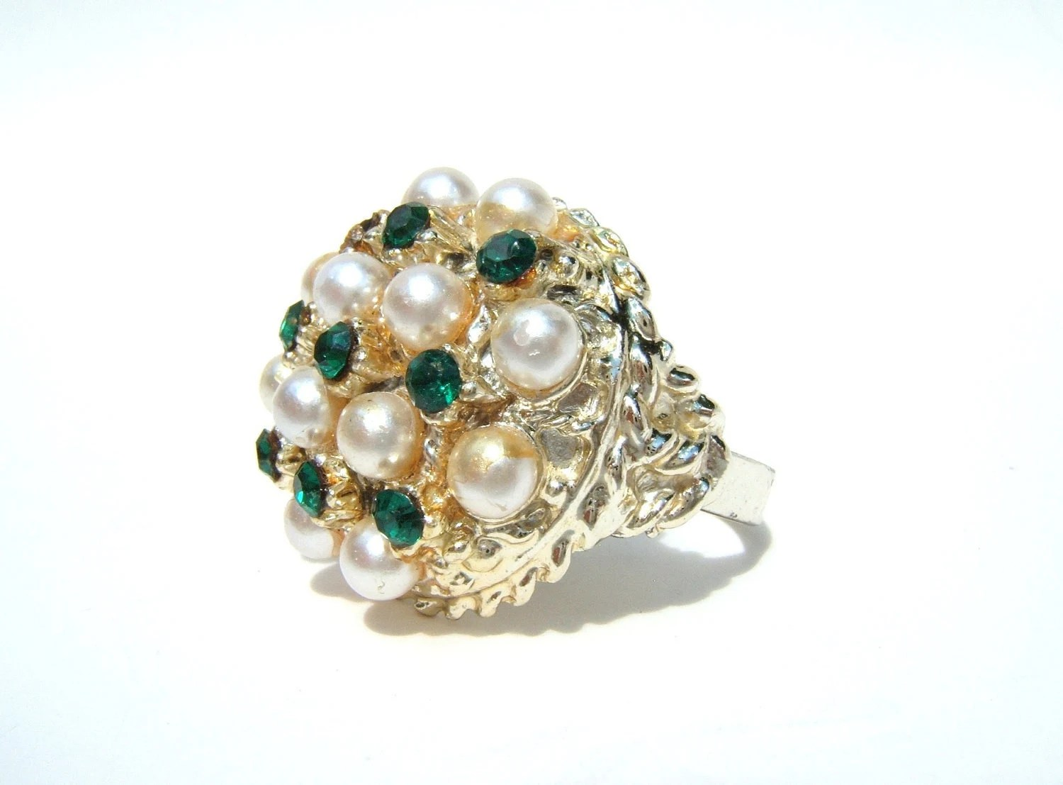 Vintage Ring - Size 10 1/2 - 1980s