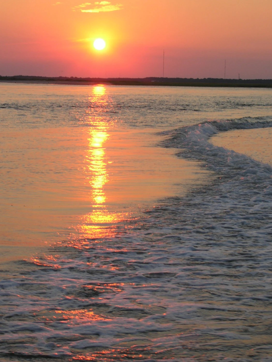 Journey to the Rising Sun--Fine Art Shore Matted Photography