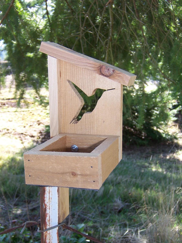 Cedar Chalet Bird Feeder