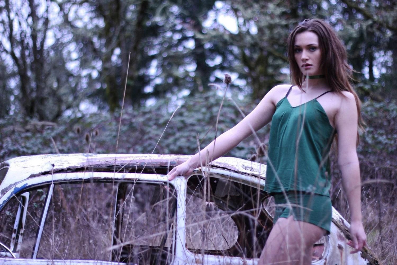 Under The Root Woodland Maiden Camisole Set