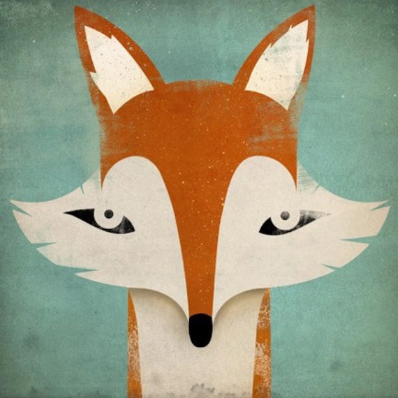 Mister Fox Illustration by nativevermont