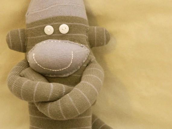 Modern Sock Monkey