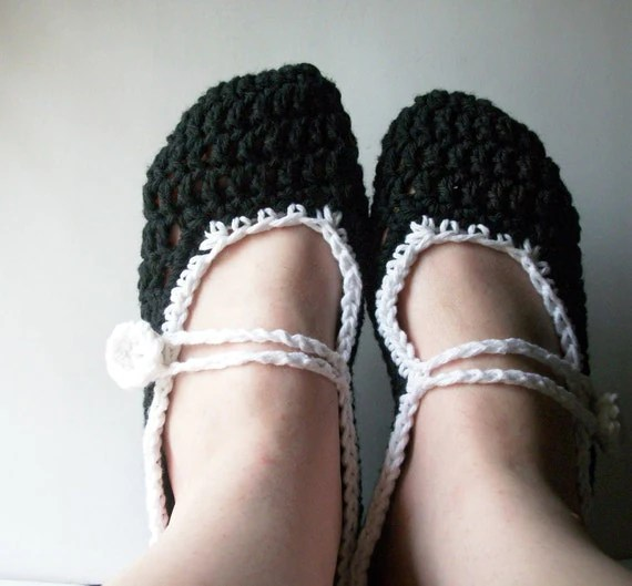 Mary Jane Slippers - $20