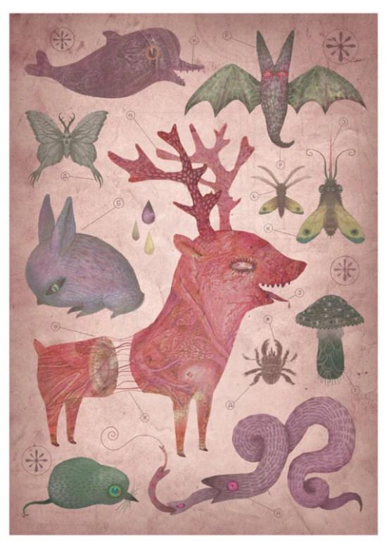 Pretty Things - Venomous Grove Print