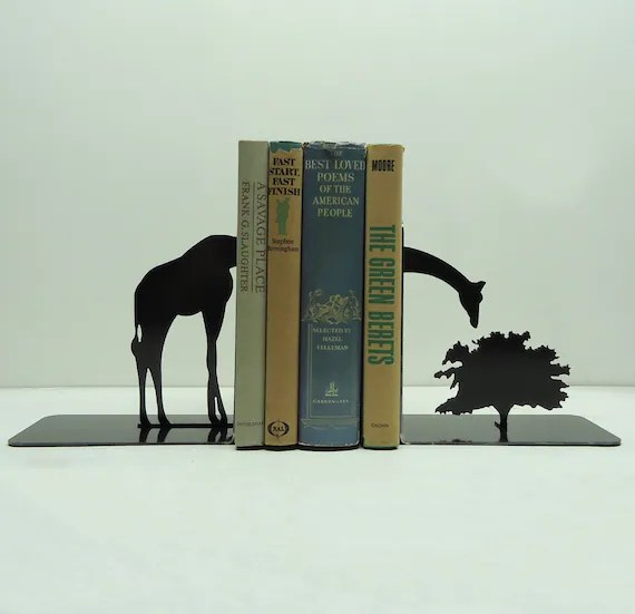 Giraffe Bookends - Free USA Shipping