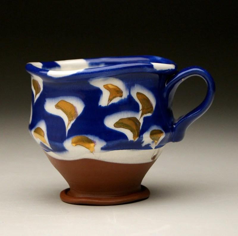 Blue Cup w/ Lustre