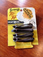 Vintage 1930s 'Tip Top' Rubber Dream Roller Curlers - Rare