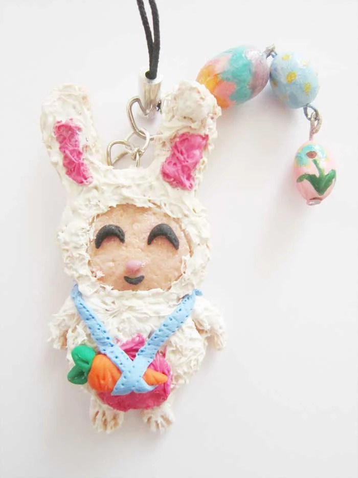 SALE:Cotton Tail Teemo Phone Charm
