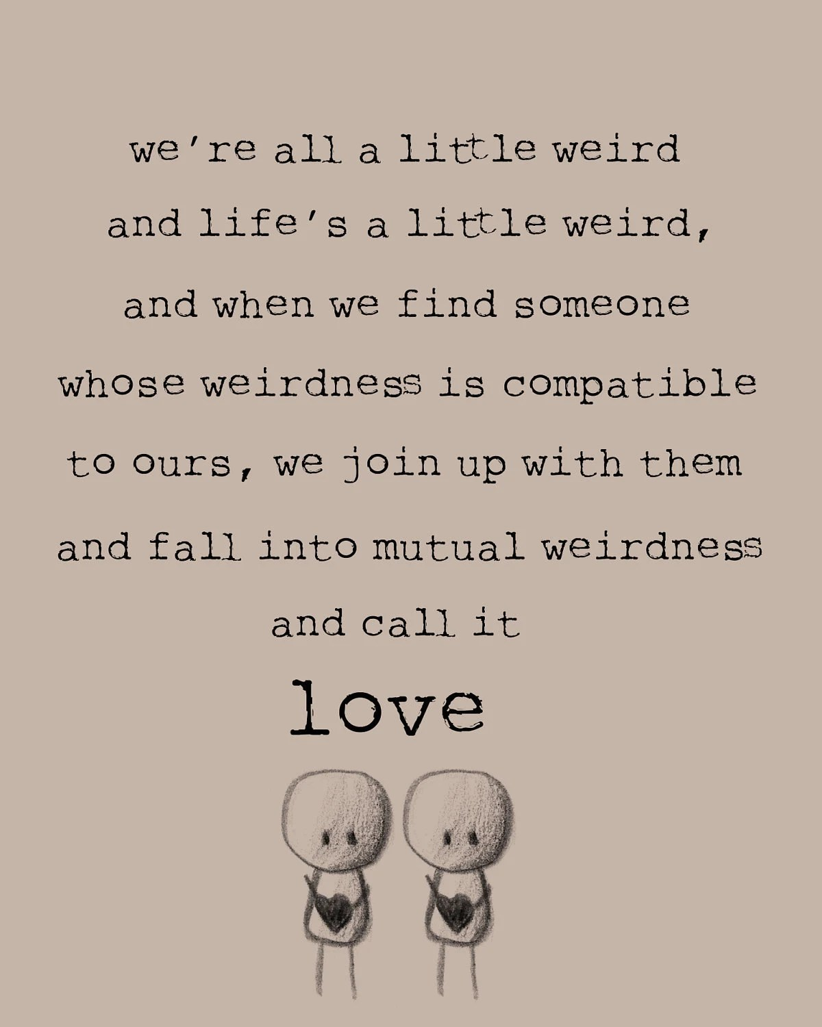 Dr. Seuss We're All a Little Weird