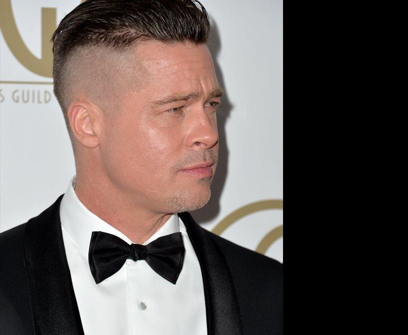 Brad Pitt Nuevo Corte De Pelo Para Su Nueva Pelcula
