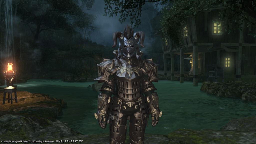 Eorzea Database Heavy Behemoth Helm FINAL FANTASY XIV