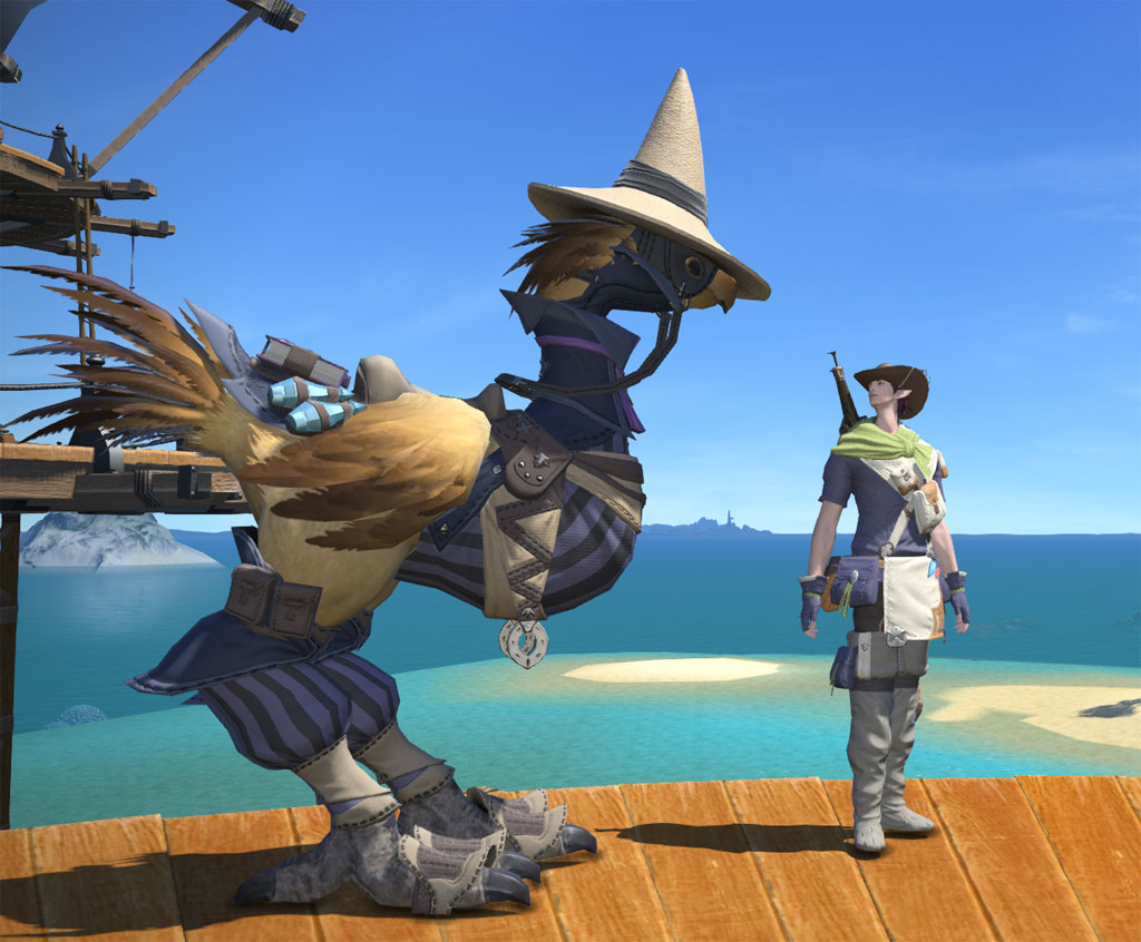 Clive Bigsby Blog Entry Nice Hat Miss Chocobo FINAL
