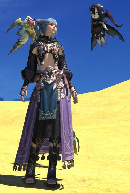 Eorzea Database Flame Elites Shawl FINAL FANTASY XIV