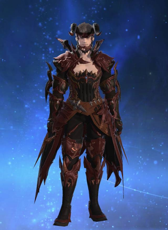 Eorzea Database Augmented Hellfire Armor Of Fending