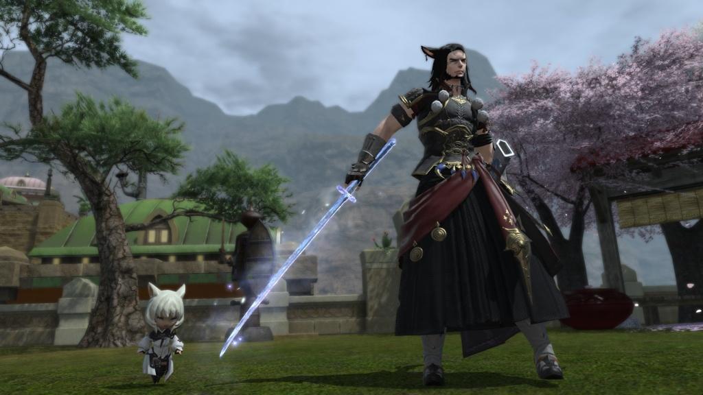 Krohman Ark Blog Entry Samurai So Far FINAL FANTASY
