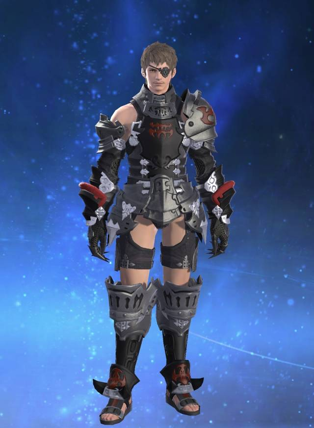 Eorzea Database Darklight Corselet Of Striking FINAL