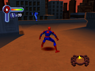 Play Spider Man 2   Enter   Electro Sony PlayStation online   Play     Spider Man 2   Enter   Electro ingame screenshot