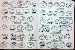 emoticones pixar facebook