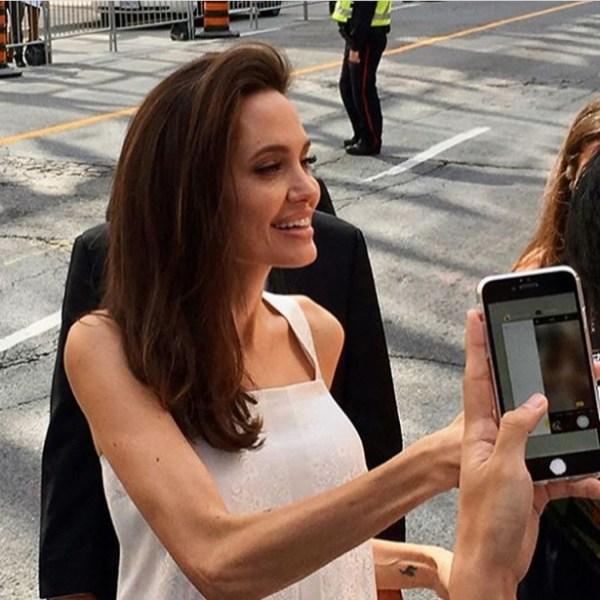 Анджелина Джоли в Торонто фото: Анджелина Джоли очень ...