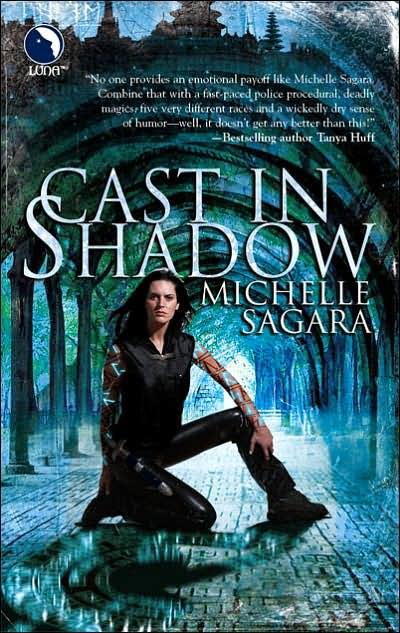 book cover for Cast in Shadows