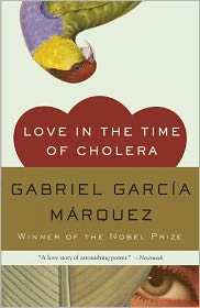 Love in the Time of Cholera by Gabriel García Márquez: Book Cover