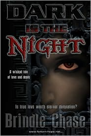 Dark is the Night by Brindle Chase: NOOK Book Cover
