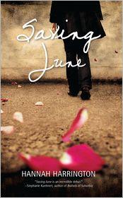 Saving June by Hannah Harrington: Book Cover