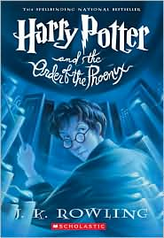 Harry Potter and the Order of the Phoenix (Harry Potter #5) by J. K. Rowling: Book Cover