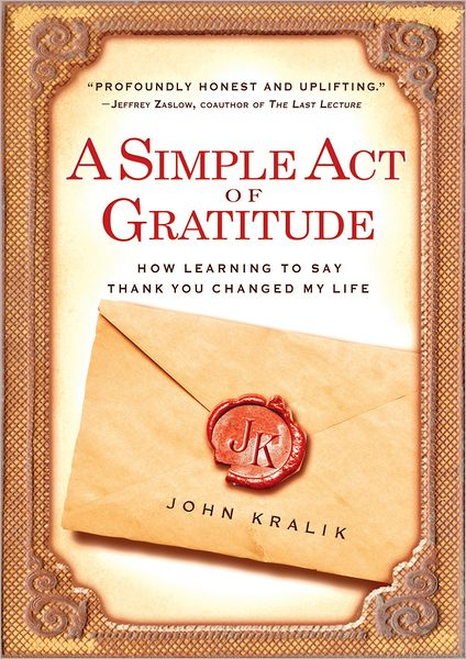 book cover for Simple Act of Gratitude
