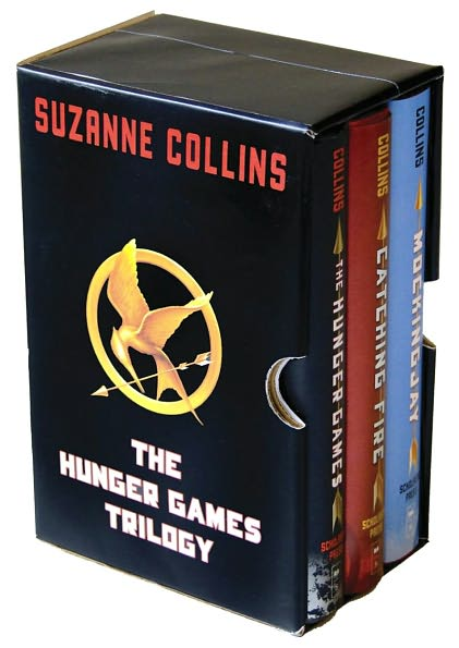 book covers for Hunger Games trilogy
