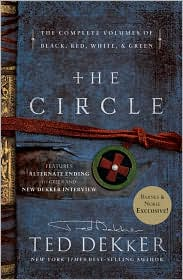 The Circle by Ted Dekker 4 in 1 book cover