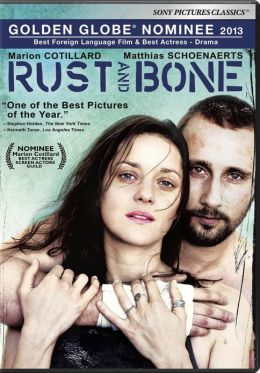 DVD cover for Rust and Bone