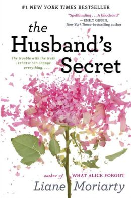 book cover for The Husband's Secret
