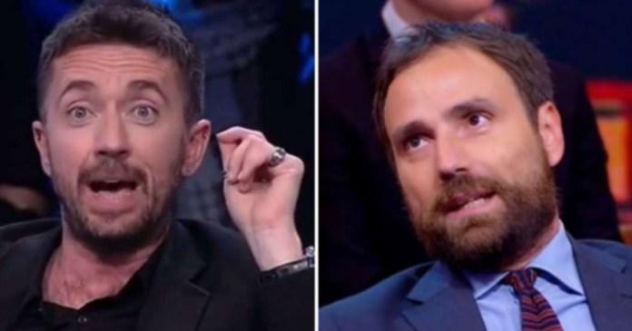 Firmetta moscia. Scanzi insults him? Record hats: Minus, guard dog and cicisbeo of Travaglio