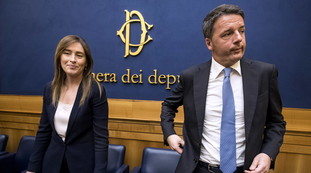 Here is the real prize, a sensational voice: secret services, Renzi and Boschi keep Conte in check