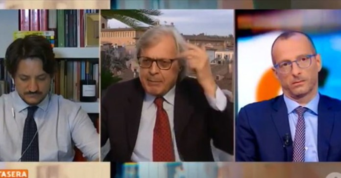 For months I have been the only opposition. Sgarbi denounces the government: Criminal action, I did not want to be involved