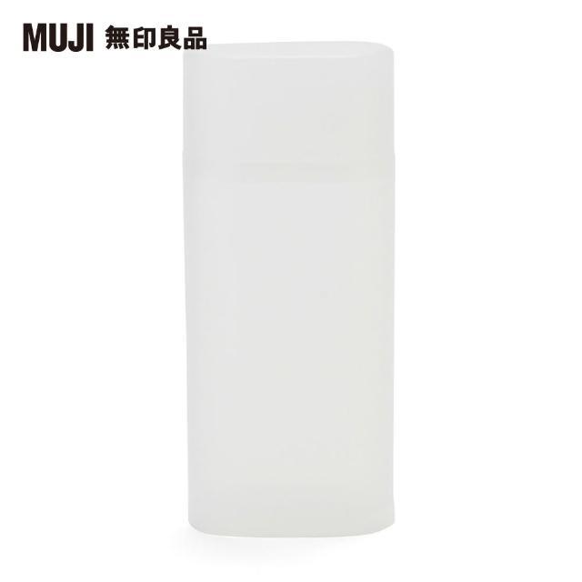 【MUJI 無印良品】PP眼鏡小物收納盒/立式.大.外圍尺寸約4.4x7x16cm