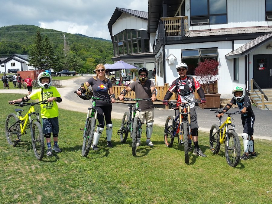 Bike rentals deliver a safe and fun way to navigate lift-served mountain biking. - ©Susan Martone