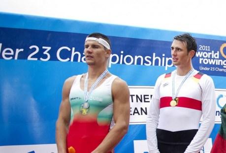Георги Божилов стана световен вицешампион по гребане