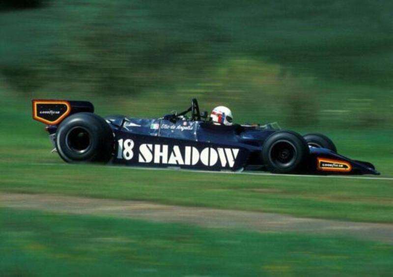De Angelis al volante della Shadow DN9 nel 1979