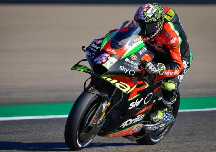 MotoGP 2021. La nuova Aprilia in pista a Jerez - MotoGP - Moto.it