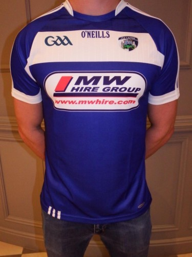 Laois GAA unveil new jersey as three-year sponsorship deal ...