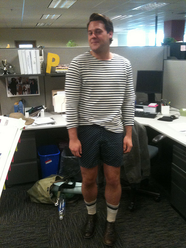 13 extreme examples of what not to wear at work 183 The