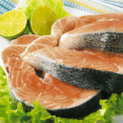 salmon-steaks