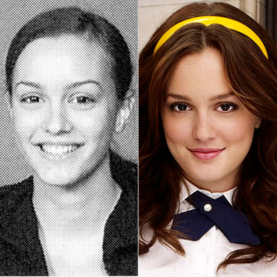 Leighton Meester, Gossip Girl, high school