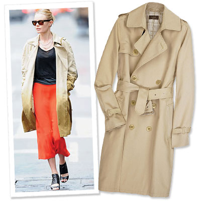 Rachel Zoe's Top Eleven Fall Trends - The Trench Coat
